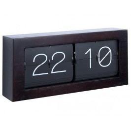 Designové nástěnné/stolní překlápěcí hodiny 5642DW Karlsson 37cm