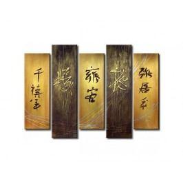 Vícedílné obrazy - Čínské znaky