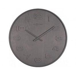 Designové nástěnné hodiny 3095gs Nextime Wood Wood Big 53cm
