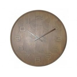 Designové nástěnné hodiny 3095br Nextime Wood Wood Big 53cm