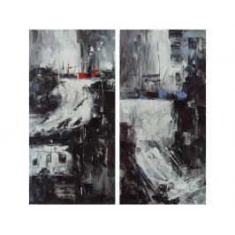 Obrazový set - Tmavá abstrakce