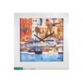 Originální nástěnné hodiny 11746 Lowell Prestige 60cm