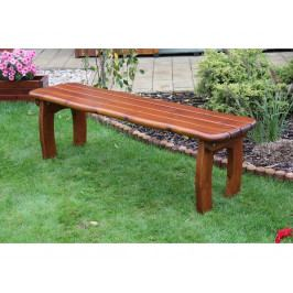 Zahradní lavice Lorit bez opěrky