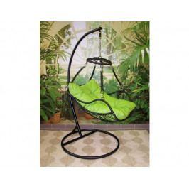 Závěsné relaxační křeslo POHODA, zelený sedák