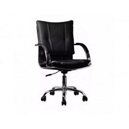 Kancelářské křeslo QUIRIN, ekokůže černá