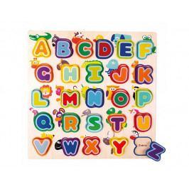 Anglická abeceda se zvířátky