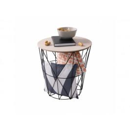 Příruční stolek Fumoir, přírodní