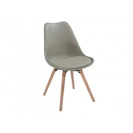 Jídelní židle Leitch, šedá