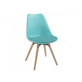 Jídelní židle Leitch, mentolová