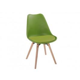 Jídelní židle Leitch, olivová