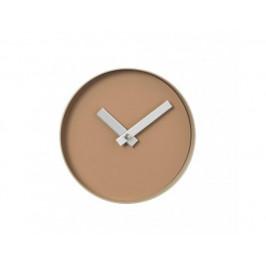 Hořčicové nástěnné hodiny - malé
