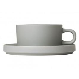 Hrneček na čaj set 2ks - světle šedá