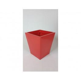 Zinkový květináč - červený