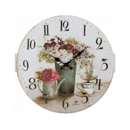 Kulaté nástěnné hodiny 21454 Lowell 34cm