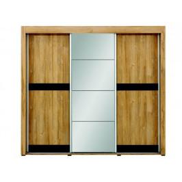 Skříň s posuvnými dveřmi York Y9