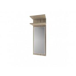 Panel se zrcadlem ORESTES 40, dub san remo