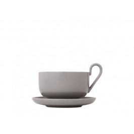 Set 2 šálků na čaj s podšálky - Mourning dove