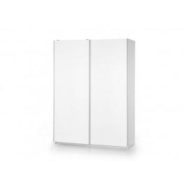 Skříň s posuvnými dveřmi LIMA S1, bílá