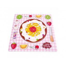 Puzzle ovocný koláč