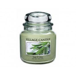 Vonná svíčka ve skle Svěží šalvej-Sage Celery, 16oz