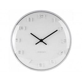 Designové nástěnné hodiny 5649WH Karlsson 25cm