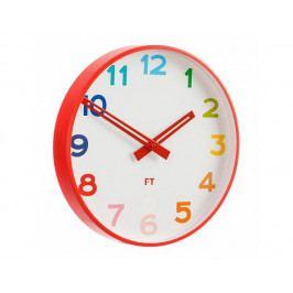 Dětské nástěnné hodiny Future Time FT5010RD Rainbow red 30cm