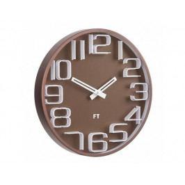 Designové nástěnné hodiny Future Time FT8010BR Numbers 30cm