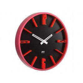 Designové nástěnné hodiny Future Time FT6010BK Numbers 30cm