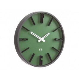 Designové nástěnné hodiny Future Time FT6010GR Numbers 30cm