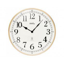 Nástěnné hodiny 5607 AMS řízené rádiovým signálem 40cm