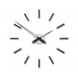 Designové nalepovací hodiny Future Time FT9600BK Modular black 60cm