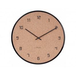 Designové nástěnné hodiny 5664BK Karlsson 40cm