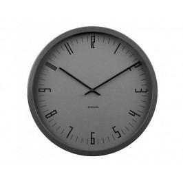 Designové nástěnné hodiny KA5612BK Karlsson 44cm