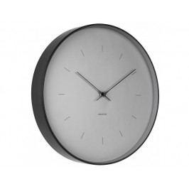 Designové nástěnné hodiny 5707GY Karlsson 37cm