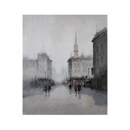 Obraz - Město v oparu