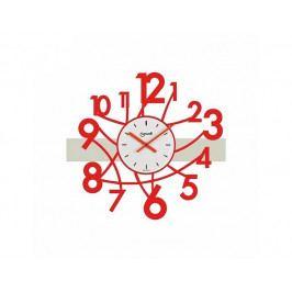 Designové nástěnné hodiny Lowell 05833R Design 50cm