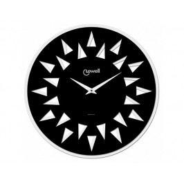 Designové nástěnné hodiny 07413NB Lowell Sole 45cm