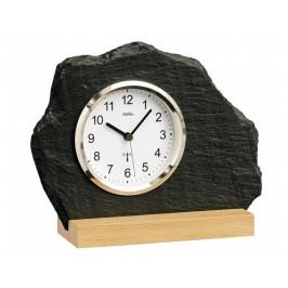 Originální břidlicové hodiny řízené signálem DCF 5114 AMS 21cm