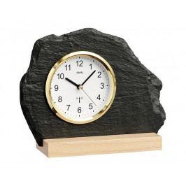 Originální břidlicové hodiny řízené signálem DCF 5115 AMS 21cm
