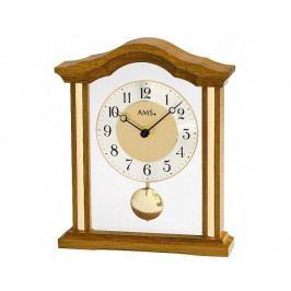 Luxusní dřevěné stolní hodiny 1174/4 AMS 23cm