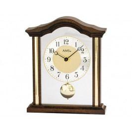 Luxusní dřevěné stolní hodiny 1174/1 AMS 23cm