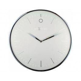 Designové nástěnné hodiny 3235gs Nextime Glamour 40cm