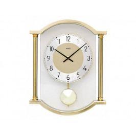 Designové nástěnné kyvadlové hodiny 7449 AMS 33cm