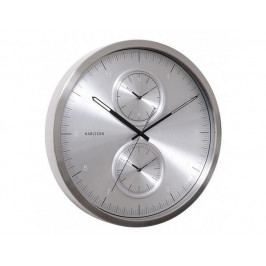 Designové nástěnné hodiny KA5508SI Karlssson 50cm