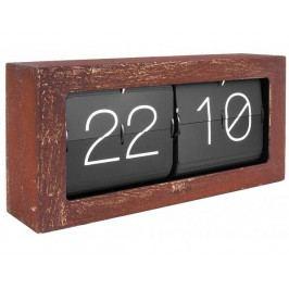 Designové nástěnné/stolní překlápěcí hodiny 5642RS Karlsson 37cm