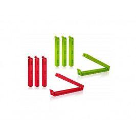 BANQUET Sada klipsů CULINARIA 12,5 cm, 4 ks, mix barev