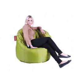 Zelený sedací vak BeanBag Lumin Chair
