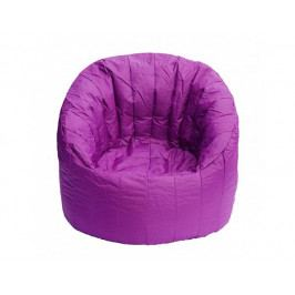 Fialový sedací vak BeanBag Lumin Chair