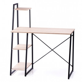 HOMEDE Počítačový stůl Rene hnědý
