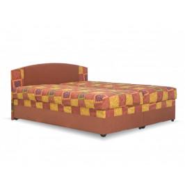Levná postel Kappa, 180x200cm, oranžová